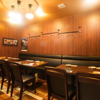 ◇全24席◇落ち着きのある空間でゆったりとお食事を