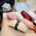 魚勘 - 料理写真:にぎり1人前