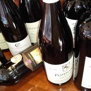 種類豊富なこだわりワイン!