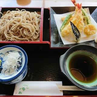 菊寿美 - 料理写真:天ざる蕎麦