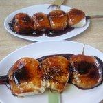 飯玉屋 - 料理写真:通常のやきまんじゅうと餡子入りやきまんじゅう