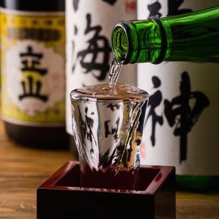 日本酒・焼酎の種類が豊富!季節の新酒も常時入荷してます!