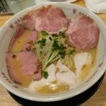 福島壱麺 - 豚牛鶏ラーメン