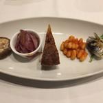 トラットリア・サルーテ - 前菜5種盛り合わせ