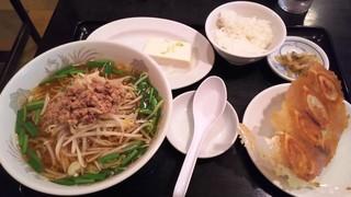 歓迎 西口店 - 台湾ラーメン・小ライス・餃子