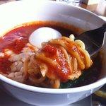 ソファリ - つけナポリタン(スープ&麺)