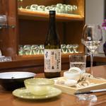 日本酒×ジャズバー リル・ダーリン - 雪の茅舎ナンバリング