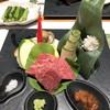 河一屋旅館 - 料理写真:みゆき和牛と信州プレミアム牛の ステーキ