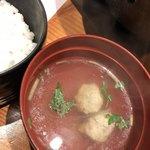 河一屋旅館 - 鶏団子汁