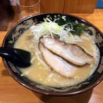 北海道らぁ麺 ひむろ - 味噌らぁめん780円