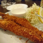 洋食亭 ブラームス - ジャンボ海老フライ