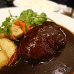洋食亭 ブラームス - ハンバーグステーキ デミグラス