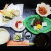 花菖蒲 - 料理写真:ランチ・天婦羅定食 1,240円(税込)。     2017.10.29