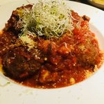 スパニッシュイタリアン ロジカ - 自家製ミートボールのトマト煮込み
