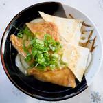 木田酒店 - 料理写真:きつねうどん