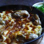 台湾切り干し大根と牡蠣オムレツ