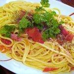クリストバル - バジルとフレッシュトマトの冷製パスタ