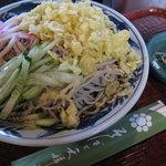 将門蕎麦 - 料理写真:冷やしたぬき拡大