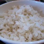 とんこつ亭 - 麦飯