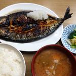 和か奈食堂 - 鯖塩焼定食