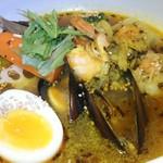 スープカレーの田中さん - 料理写真:11月のマンスリーシーフードスープカレー