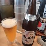 丸源ラーメン - 瓶ビール