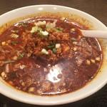 成都 - 黒酢麺(激辛)