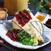 寿司ろばた 八條 - 料理写真:【11月限定】くじら刺身三種盛り〈赤身・皮トロ・ハツ〉