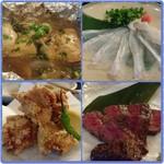 75705441 - 牡蠣のちゃんちゃん焼/平目の薄造り 鶏の唐揚/和牛のたたき
