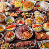 Kansai - 料理写真:食べ放題宴会 プレミアム