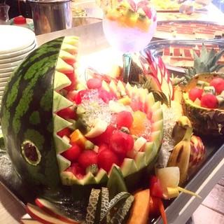 ◎誕生日・記念日◎ハレの日にはフルーツの盛り合わせを♪