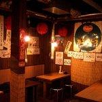 サカイ食堂 - 昭和30年代をイメージした店内
