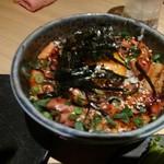 海宴二代目 - 焼鳥丼 もちろんミニサイズ