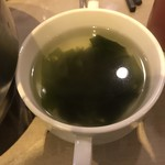 李さんの台所 - わかめスープ。       美味し。