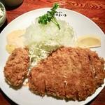 Tonkatsuyamaichi - 特ロースかつ&牡蛎フライ!