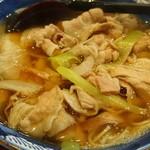 堀留庵 - 肉南蛮蕎麦(17-11)
