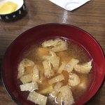 食堂 広島屋 - お味噌汁