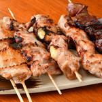 坊っちゃん亭 - 料理写真:串焼き盛り合わせ