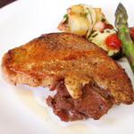 レストラン シマダ - 比内地鶏のグリル