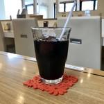カレーのチカラ - アイスコーヒーです。
