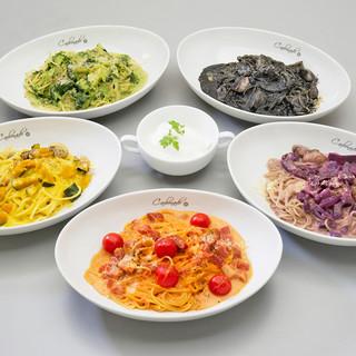 自家製にこだわり、旬の食材を使ったシェフ特製のイタリアン!