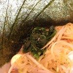 吟家 - 海苔  ほうれん草  うずらの卵