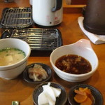 天ぷら わた辺 - お漬物も美味しかった♥