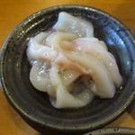 天ぷら わた辺 - 塩辛もありますよ~♪