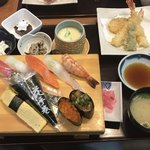 本まる寿司 - 本まるにぎり定食
