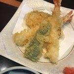 本まる寿司 - 天ぷら