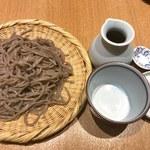 蕎麦きり はるきや - 粗びき蕎麦(限定10食)