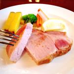 レストラン シマダ - ハムステーキ