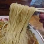 オールド スクール 中華そば ミヤ デ ラ ソウル - 麺リフト