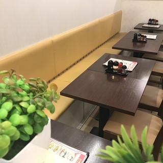 【全席テーブル席】貸切OK!我が家のように寛げる憩いの空間